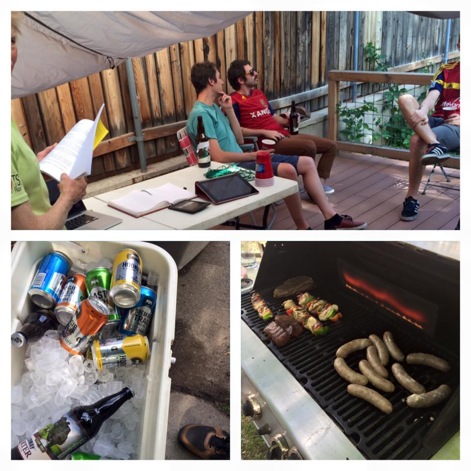 Book launch BBQ