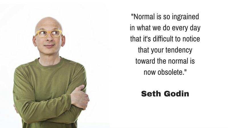 Seth Godin Normal