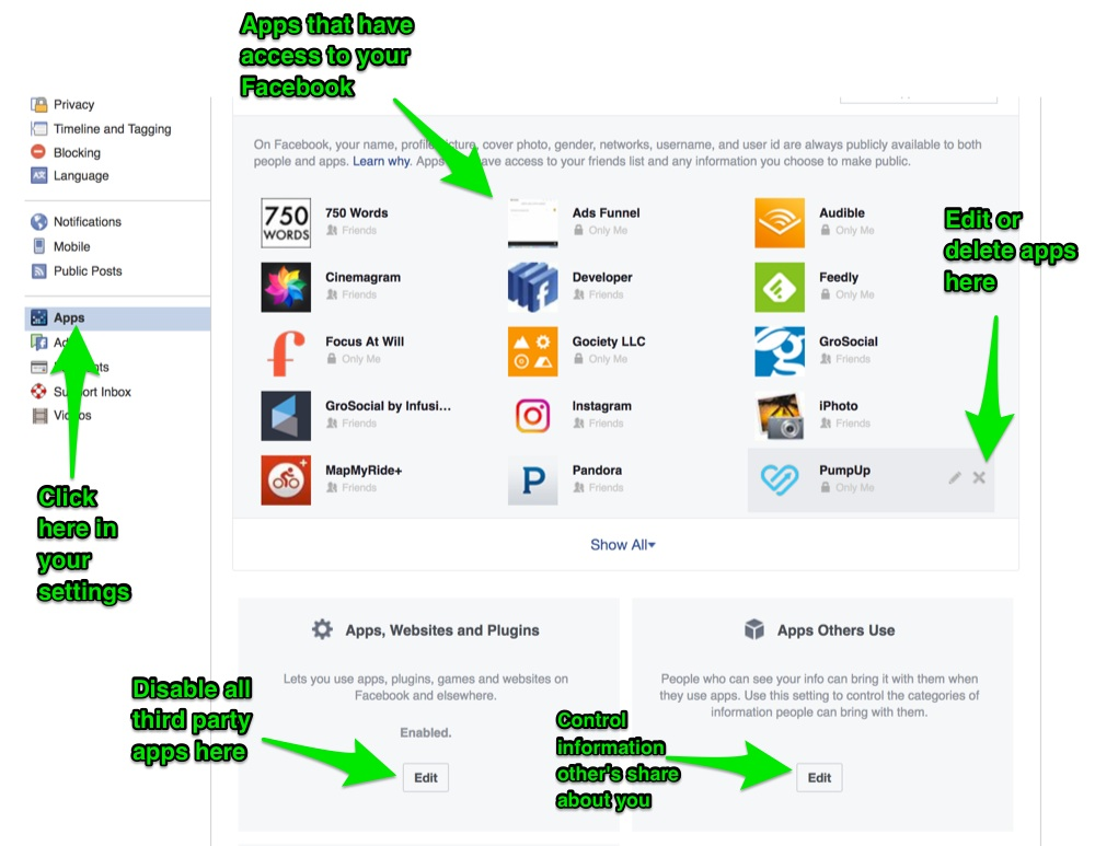 Facebook-third-party-apps-settings